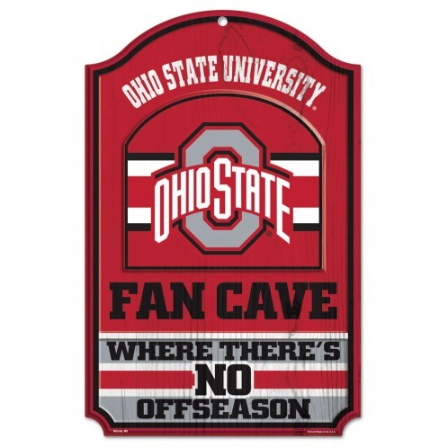 Ohio-State-Fan Cave-Wood Sign