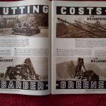 Vintage 1940 Caterpillar Heavy Equipment 2 Page