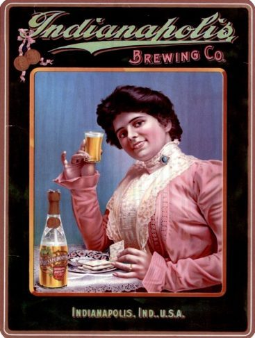 Vintage Look Reproduction Metal Sign Chicago Old Brew Beer
