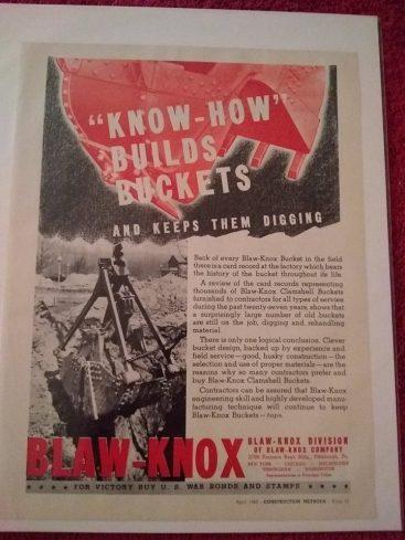 9fcf4724957 Blaw Knox | American Ikons