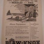 blaw knox 9