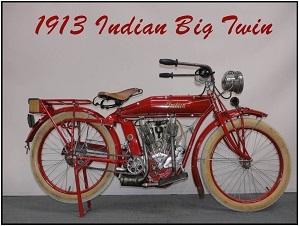 1913 Indian big twin