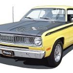 Plymouth 1971 Duster 340 Wedge