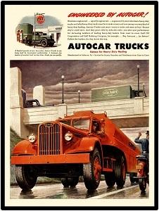 autocar truck 1945 3