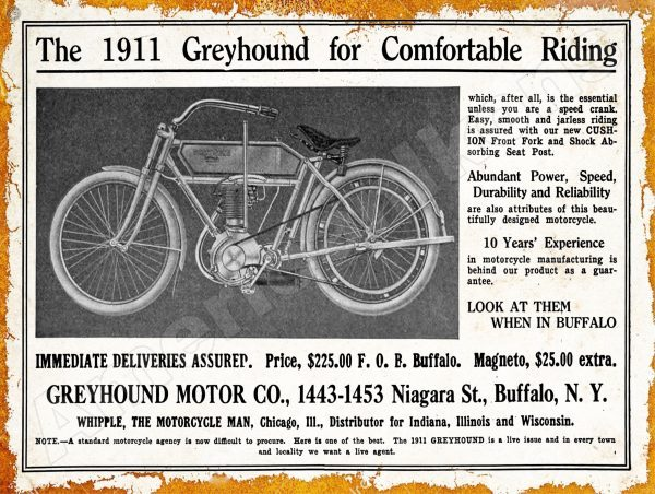 1911 greyhound