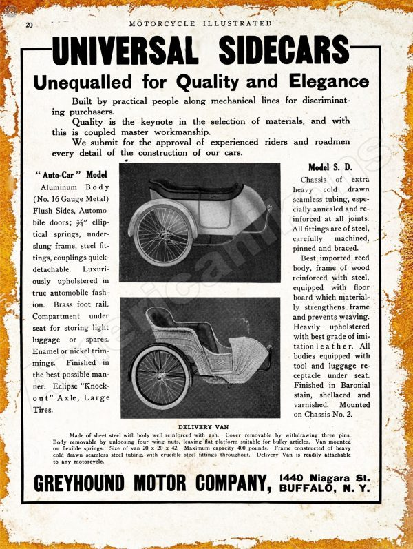 1913 greyhound