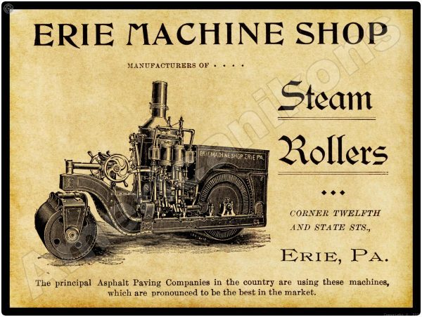 1894 Erie Steam Rollers
